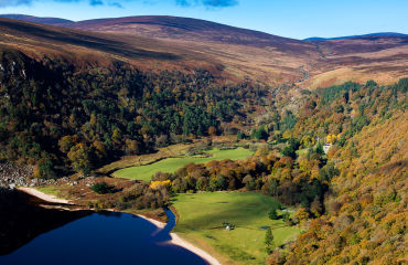 Lough Tay Wicklow - © Failte Ireland & Tourism Ireland